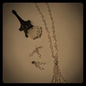 Vintage 60s Handmade Necklace set
